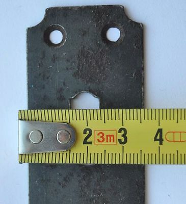 1890s Imperial Russia Antique Iron Large Size Door Key Hole Cover 10