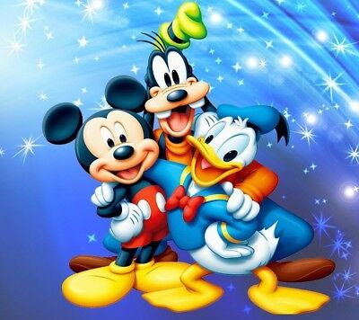 Mickey Mouse Donald Duck Goofy Disney Disneyland Mouse