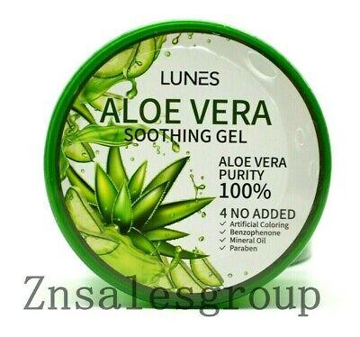 Aloe Vera Soothing Gel 100% Pure Moisturizer 300 ml /10.58 oz ( Made in Korea ) 3