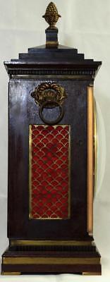 Antigüedad Caoba 8 Día Soporte Reloj Winterhalder & Hofmeier Schwarzenbach 3