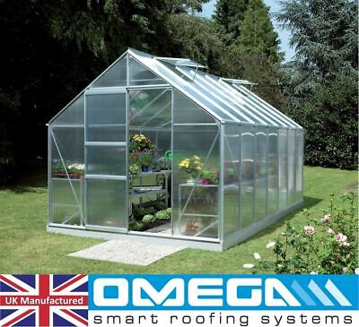 4mm Polycarbonate Sheet | Greenhouse Replacement Panels + Glazing Clips W / Z 5