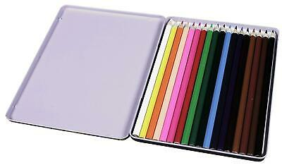 10 18 30 Premium Adult Colouring Pencils  Artists Quality Colour Therapy in Tin 5