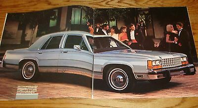Mint! 1986 Ford LTD Crown Victoria Sales Brochure