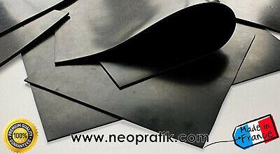 Plaque caoutchouc NITRILE pour réalisation de joint (résiste aux hydrocarbures) 2