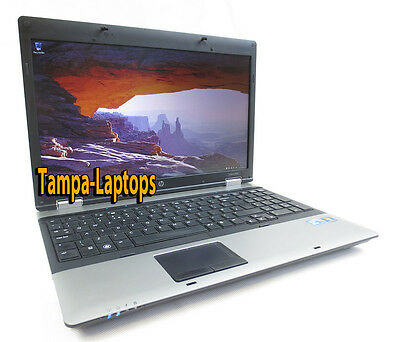 HP PROBOOK LAPTOP COMPUTER 2 CORE 2.1GHz 4GB 15.6 HD DVD WINDOWS 10 WIN WiFi PC 6