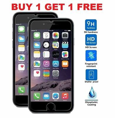 Tempered Glass Screen Protector For Apple iPhone 6S & 6 - 100% Genuine 5