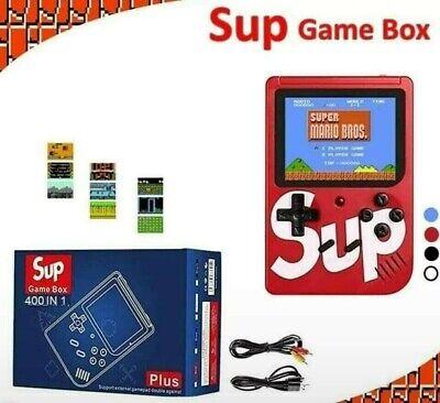 Console Videogioco Portatile 400 Giochi 8 Bit Tv Sup 400 Box Retro Vari Colori 4