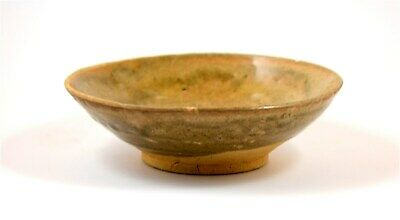 China Sung Dynasty ancient glazed green-brown tea bowl 3