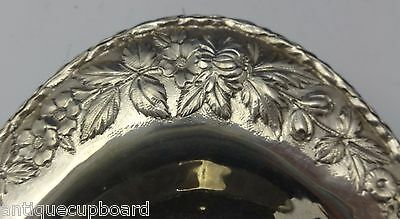 """Repousse by Kirk Sterling Silver Bread Tray 12 1/2"""" X 6 3/4"""" #266F (#0560) 3"""