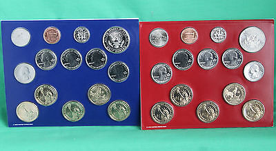2013 ANNUAL US Mint Uncirculated Coin Set 28 P and D Minted Coins with COA 5