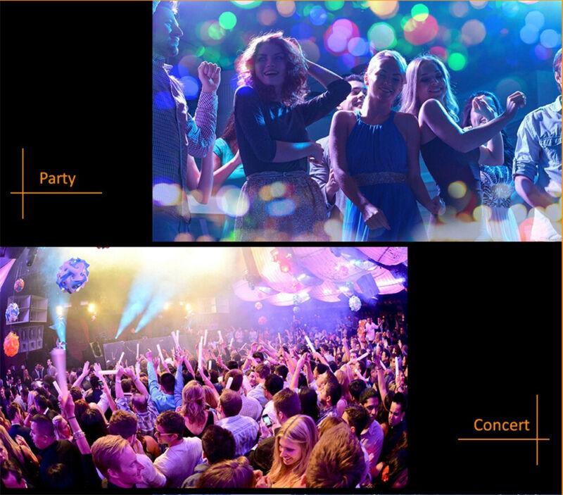 3USB Mini LED RGB Disco Stage Light Party Club DJ KTV Xmas Magic Phone Ball Lamp 7