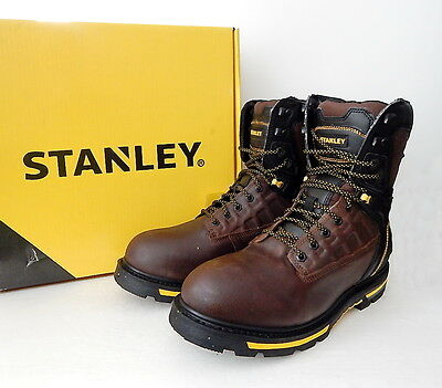 a9fe1deff20 NWB STANLEY MEN'S Secure 8 Inch Soft Toe Work Boot Size 13 M (US) Brown
