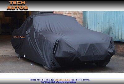 Premium Indoor Black Satin Car Cover Luxor Mercedes S Class W220//1//2 LWB