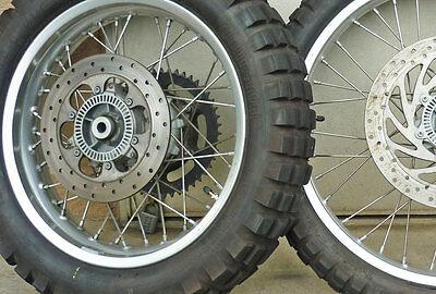 BMW F650GS Dakar Spoke Wheel Tubeless Kit Front 21×1.60 Rear 17×3.00