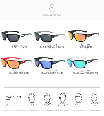 DUBERY Mens Womens Vintage Polarized Sunglasses Driving Eyewear Shades UV400 Hot 11