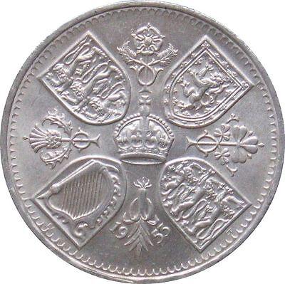 1953 CROWN - Queen Elizabeth Coronation Five Shilling 2