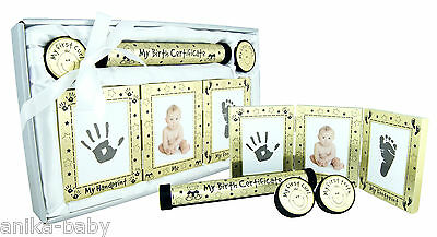 New Baby Keepsake Gift Set Christening Present Boy Girl - Silver Pink Blue Gold 5