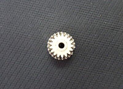 Ingranaggio gear in nylon per motoriduttore stufa a pellet Kenta K9117169 5 rpm 6