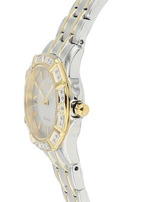 Citizen Eco-Drive Women's EW2364-50A Two-Tone Diamond Bezel Bracelet 26mm Watch 4
