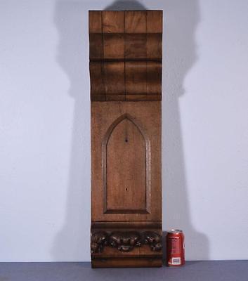 Antique French Gothic Revival Chestnut Wood Corbel/Beam/Pillar 2