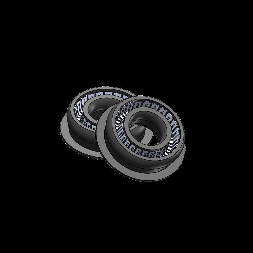 Agilent 5063-6589, Black Piston Seals, 2/PK