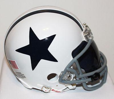 Dez Bryant Dallas Cowboys Throwback Riddell Custom Mini Helmet W Visor