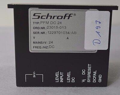 Schroff Unterbrechungsfreies Netzteil (Spannungsabfall) PFM DC 24 (D.197)