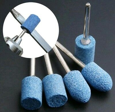 10pcs Ceramic Stone Polishing Grinding Dremel Rotary Die Grinder Drill Bit Tool 2