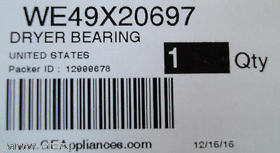 WE49X20697 NEW GENUINE OEM ORIGINAL GE Dryer Bearing & Belt Kit BLOWOUT SALE 7