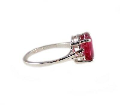 Red Sapphire Ring 5¼ct Antique 19thC Medieval Sorcery Psychic Anti-Black Magic 6
