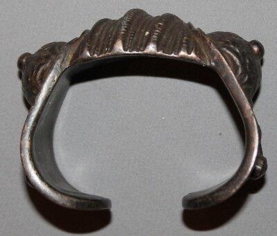 Antique Greek Medieval Bronze Fertility Folk Art Hand Made Bracelet 6