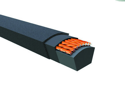 J/&J PowerDrive B70 or 5L730 V Belt 5//8 x 73in Vbelt