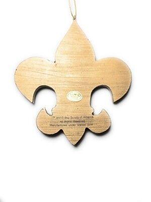 Thanks Scout Leader Porcelain Ornament Gift Scouts Boy Scoutmaster Cub Khaki