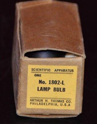 Arthur H. Thomas Scientific Apparatus 1802-L 6.5V 1.4A Lamp Bulb for Mettler K4