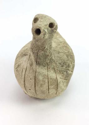 2300-1800 BC Canaanite Terra Cotta Figurine From Houran in Syria COA Barakat 2
