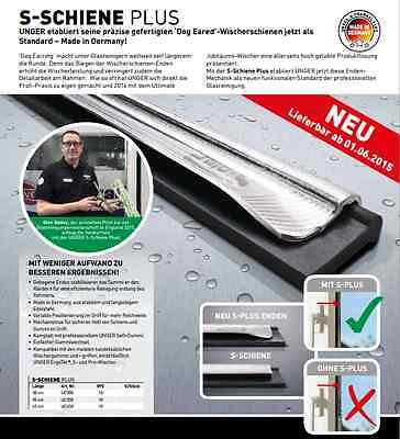 Unger UC300 S-Schiene PLUS 30 cm + Gummi soft für Fensterwischer Fensterabzieher 2