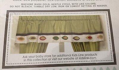 Kids Line Jungle Jigsaw Window Valance • $23.99 - PicClick