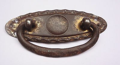 Small  Antique Brass Drawer or Chest Handle 3 1/16'' Long # Free Shipping 2