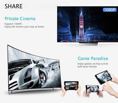 Chromecast Google Wireless Mirascreen Hdmi Display Dongle Media Video Streamer 2