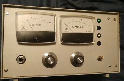 Vintage DC Voltmeter with Wired Switch 7