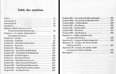 LES MOULINS A EAU DE LA VALLEE DU SAINT-LAURENT Mühlengeschichte Müller 2