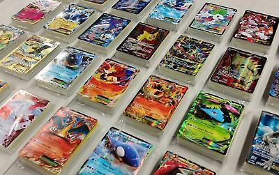 Pokemon Card Lot 100 OFFICIAL TCG Cards Ultra Rare Included - GX EX MEGA + HOLO 9