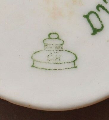1910s Germany German Doucella Brand Door Bell Ring Button Cover Plate ROSENTHAL 2