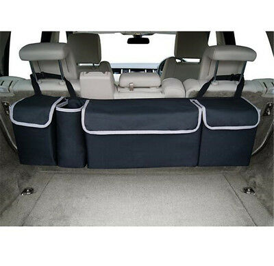 Black High Capacity Multi-use Car Seat Back Organizers Bag Interior Accessories 7