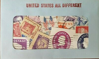 30 Used US Postage Stamps 40-100 YRS OLD *All Different*  Book Value $5.00! 5