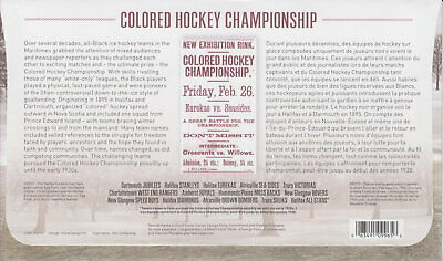 Canada 2020 Black History Colored Hockey Championship First Day Cover 2