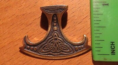 "Ancient Greek-Scythian Bronze Ax or ""Sekira"" Peruna \ Replica Amulet"