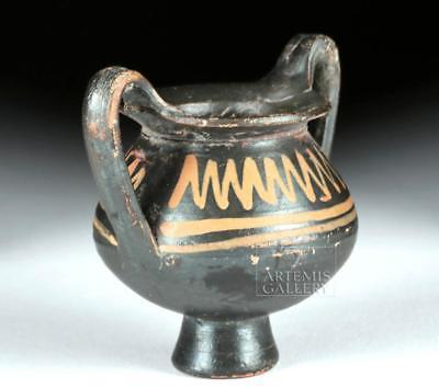Miniature Greek Apulian Xenon Ware Amphora Lot 24C