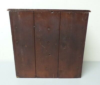 WONDEFUL ANTIQUE SALESMAN'S SAMPLE or CHILD'S MINIATURE 5- DRAWER CHEST 10