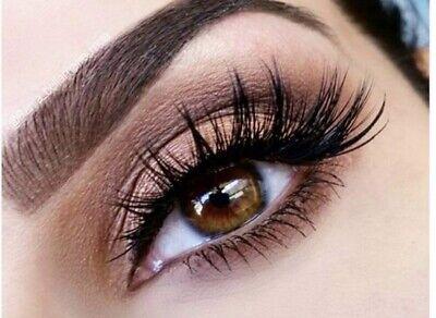 💙5 Pairs 3D False Eyelashes Mink Wispy Cross Long Thick Soft Fake Eye Lashes💙 12